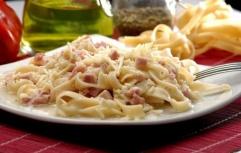 Espaguete ao Forno com Presunto Prieto